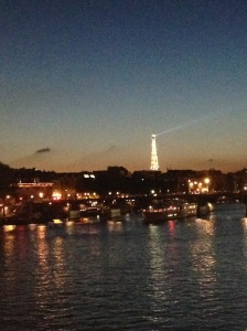 The Eiffel Tower from Pont Neuf, October 2015